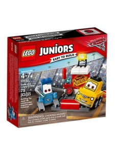 Лего 10732 Пит-стоп Гвидо и Луиджи Lego Juniors