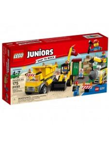 Лего 10734 Стройплощадка Lego Juniors