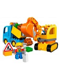 LEGO 10812 Duplo Грузовик и гусеничный экскаватор