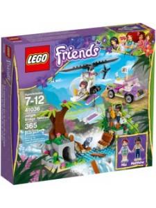Лего 41036 Спасательная Станция на Мосту Lego Friends