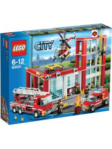 LEGO City Пожарная часть 60004