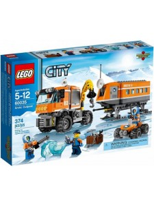 Лего 60035 Передвижная арктическая станция Lego City