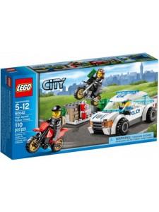 Лего 60042 Погоня за Воришками-Байкерами Lego City