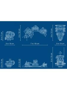Лего Хидден Сайд Старый рыбацкий корабль Lego Hidden Side 70419