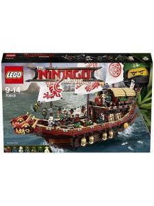 LEGO Ninjago Летающий корабль Мастера Ву 70618