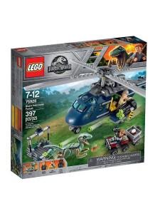 Лего 75928 Погоня за Блю на вертолёте Lego Jurassic World