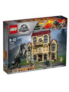 Лего 75930 Нападение индораптора в поместье Lego Jurassic World