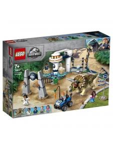 Лего Нападение трицератопса Lego Jurassic World 75937
