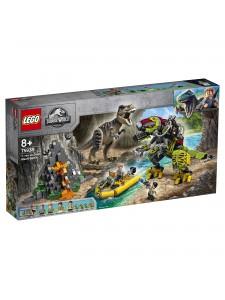 Лего Бой тираннозавра и робота-динозавра Lego Jurassic World 75938
