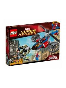 Лего 76016 Спасательный вертолёт Человека-паука Lego Super Heroes