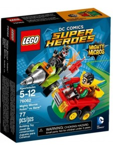 Лего 76062 Робин против Бэйна Lego Super Heroes
