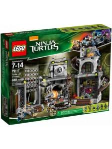 Лего 79117 Вторжение на Базу Черепашек Ninja Turtles