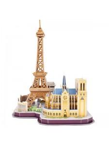 3D Пазл Достопримечательности Парижа MC254H