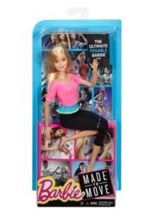 Mattel Кукла Барби Безграничные движения Barbie Made To Move DHL82
