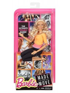 Mattel Кукла Барби Йога Безграничные движения Barbie Made To Move DPP75