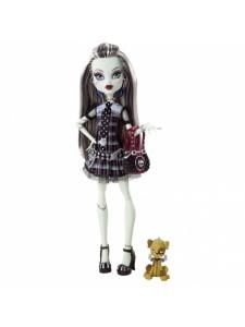 Кукла Monster High Фрэнки Штейн С питомцем BBC43