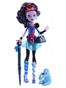 Кукла Monster High Джейн Булитл С питомцем BLW02