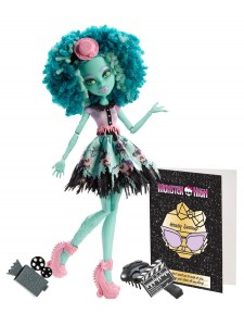 Кукла Monster High Хани Свомп Страх, Камера, Мотор BLX24