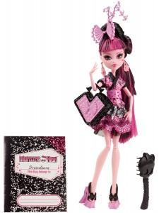 Кукла Monster High Дракулаура Монстры по обмену CDC35