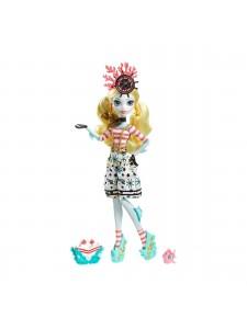 Кукла Monster High Лагуна Блю с питомцем Кораблекрушение DTV91