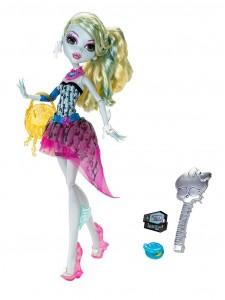 Кукла Monster High Лагуна Блю Смертельно прекрасный горошек X4530
