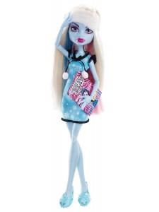 Кукла Monster High Эбби Боминейбл Пижамная вечеринка X6917