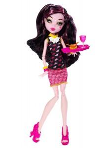 Кукла Monster High Дракулаура Крипатерий BJM19
