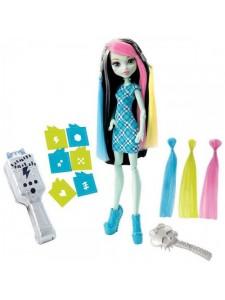Кукла Monster High Фрэнки Штейн Высоковольтные Волосы DNX36