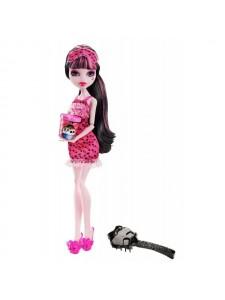 Кукла Monster High Дракулаура Пижамная вечеринка Х4515