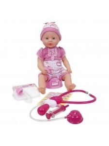Кукла New Born Baby Младенец Поухаживай за мной Simba