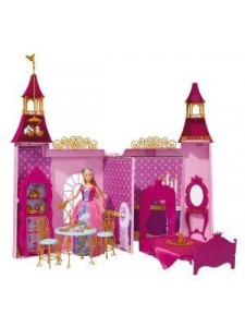 Кукла Штеффи и её сказочный замок Simba