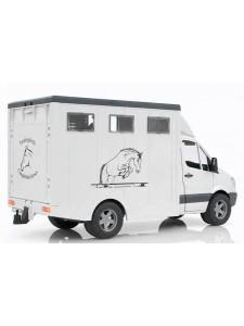 Брудер Фургон Mercedes Benz с лошадью Bruder 02533