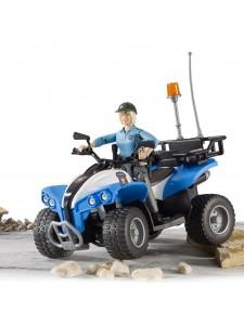 Брудер Полицейский квадроцикл Bruder 63010