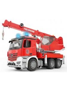 Брудер Пожарный автокран MB Arocs Bruder 03675