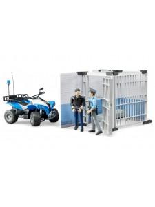 Брудер Полицейский участок с квадроциклом Bruder 62730