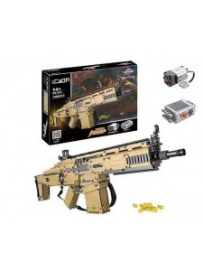 Конструктор Cada Штурмовая винтовка Scar c81021w