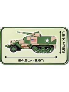 Коби Американская Самоходная пушка M3 Cobi 2535