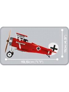 Коби Немецкий истребитель Красный Барон Cobi 2974