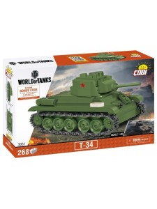Коби Советский Танк T-34 Cobi 3061
