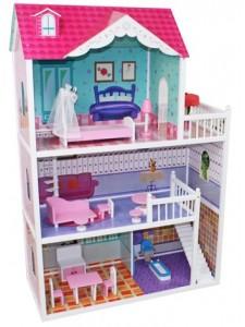 Деревянный кукольный домик Alicja Wooden Toys