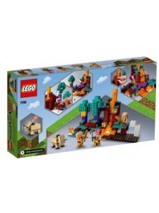 Лего Майнкрафт Искаженный лес Lego Minecraft 21168