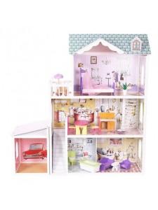 Кукольный домик с гаражом Beverly Hills Eco Toys 4108WG