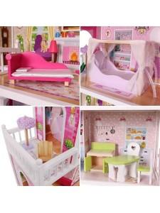 Кукольный домик California Eco Toys 4107WOG
