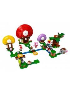 Лего Супер Марио Погоня за сокровищами Тоада Lego Super Mario 71368