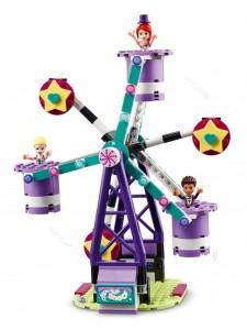 Лего Френдс Волшебное колесо обозрения и горка Lego Friends 41689