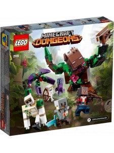 Лего Майнкрафт Мерзость из джунглей Lego Minecraft 21176