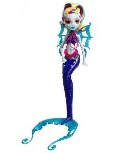 Кукла Monster High Лагуна Блю Большой Кошмарный Риф DHB56