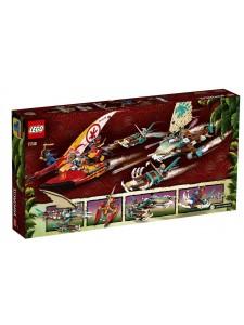 Лего Ниндзяго Морская битва на катамаране Lego Ninjago 71748