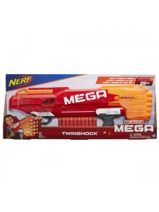 Бластер Nerf Мега Твиншок Hasbro B9894 Нерф