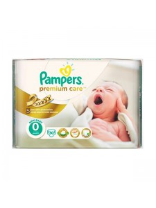 Подгузники Pampers Premium Care 0 Newborn, 30 шт